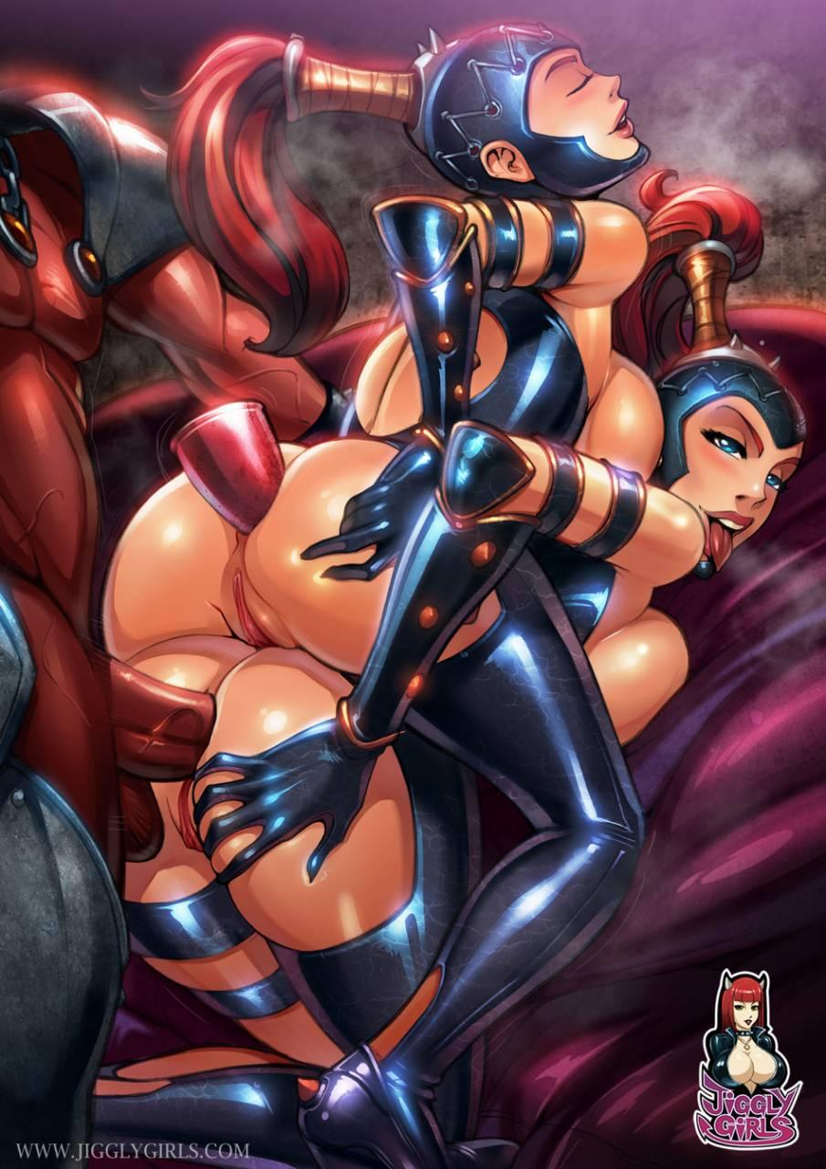 dark dominatrix+dark mistress+horned reaper