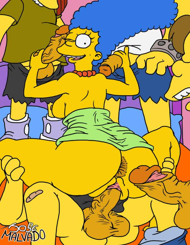 Marge simpson desperato housewife with neighbours